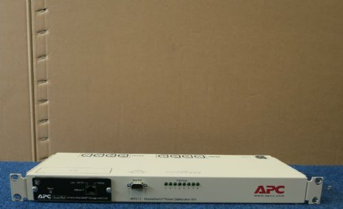 APC AP9212 - MasterSwitch Power Distribution Unit PDU (8)C13 AP9606 Network Card